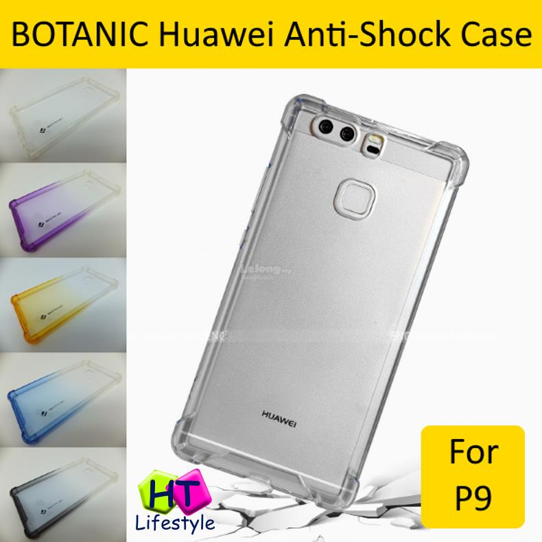 info for 9a864 c0273 BOTANIC Huawei P9 Shockproof Transparent PC+TPU Protective Case