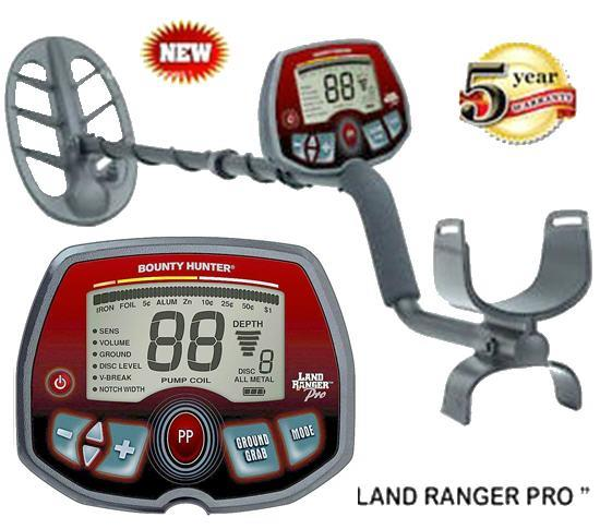 Bounty Hunter Land Ranger Pro Metal Detector (MTD-BHLRP).