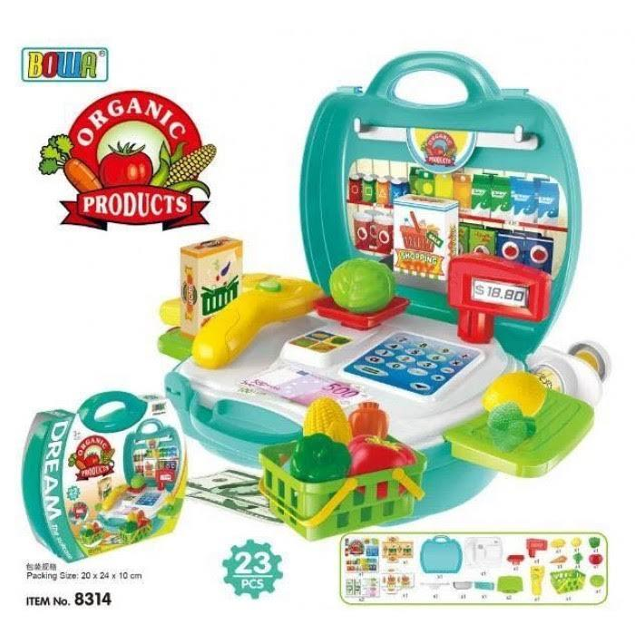 BOWA DREAM THE SUITCASE ORGANIC PRODUCTS PLAYSET