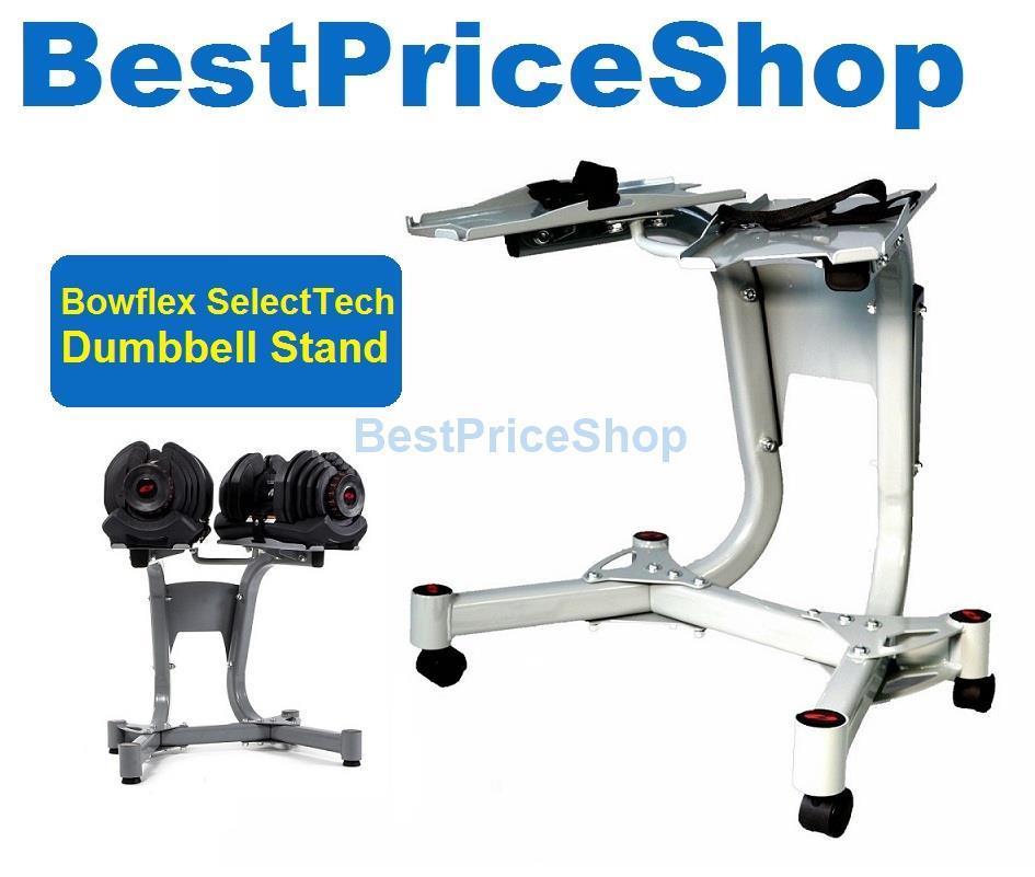 Bowflex Adjustable Dumbbells Exercises: Bowflex SelectTech Dumbbell Rack Weig (end 6/4/2019 1:23 PM