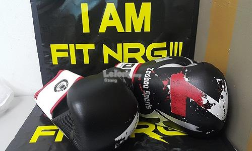 BOXING GLOVES GYM SPORTS FITNESS TOUGH HOTT