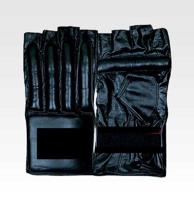 Boxing Punching Mitt Leather - Open Finger