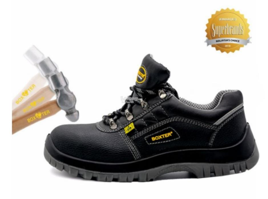 BOXTER SAFETY SHOES LIGHT & COMFORT ROGERS LOW CUT DESIGN(SIZE:UK2-10)