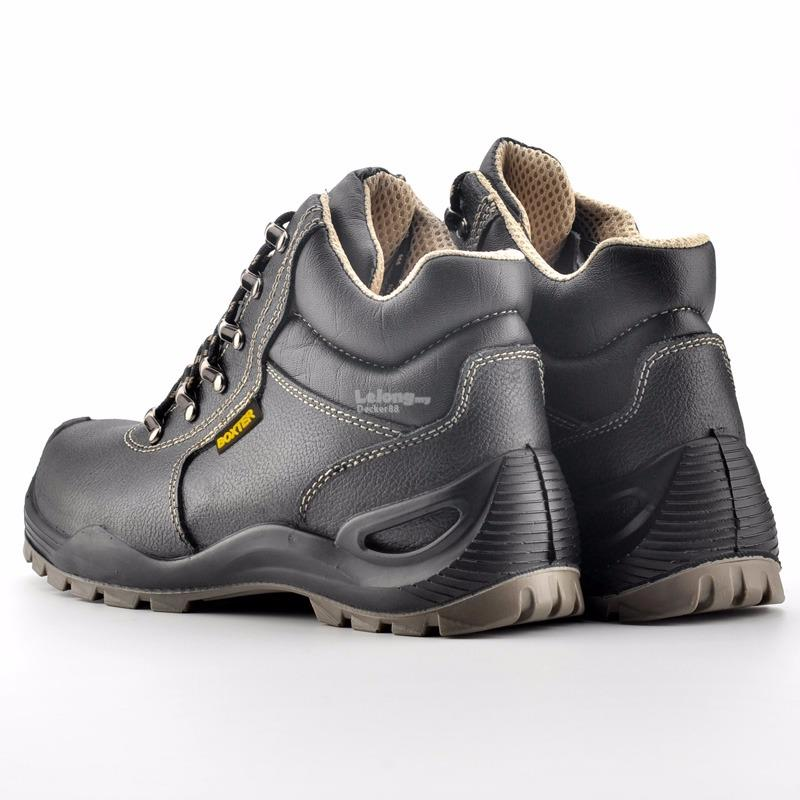 BOXTER SAFETY SHOES MID CUT S3/SRC CE APPROVED (SIZE: UK3-UK12)