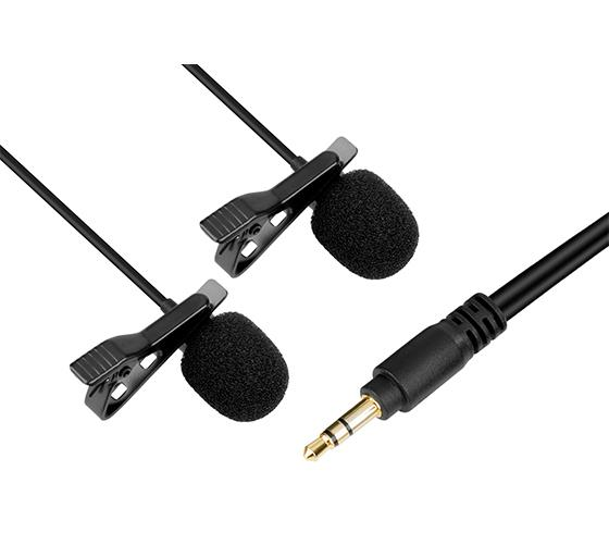 Boya BY-LM400 Dual-Lavalier Microphone for Smartphone Mobile Phone