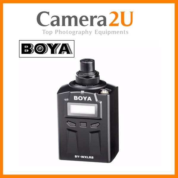 Boya BY-WXLR8 UHF Wireless XLR Transmitter for Microphone WXLR8