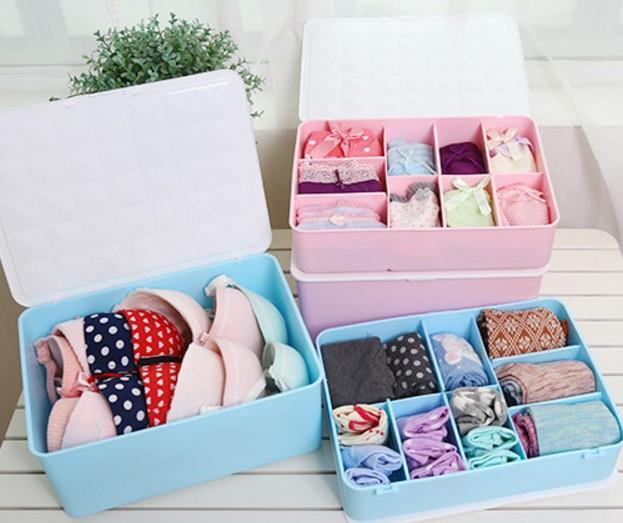 Delicieux Bra Underwear Storage Box Washable Plastic. U2039 U203a