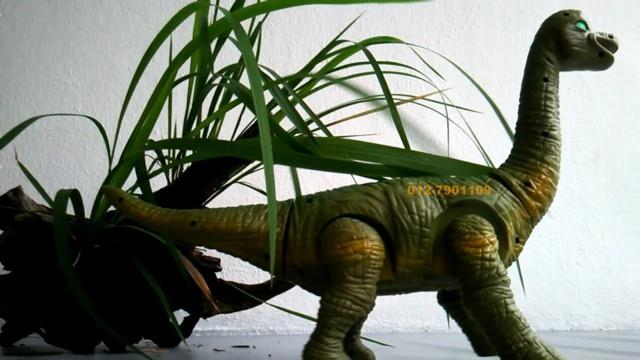 Brachiosaurus Lay Eggs Electric Dinosaur Toy with Sound n Light