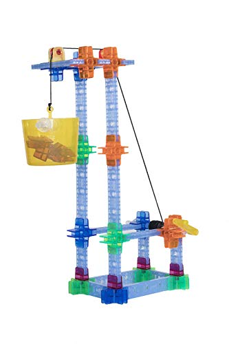 Brackitz Pulleys 90 Piece Set for Kids | Building Toy for Boys  & Girls Ages 7