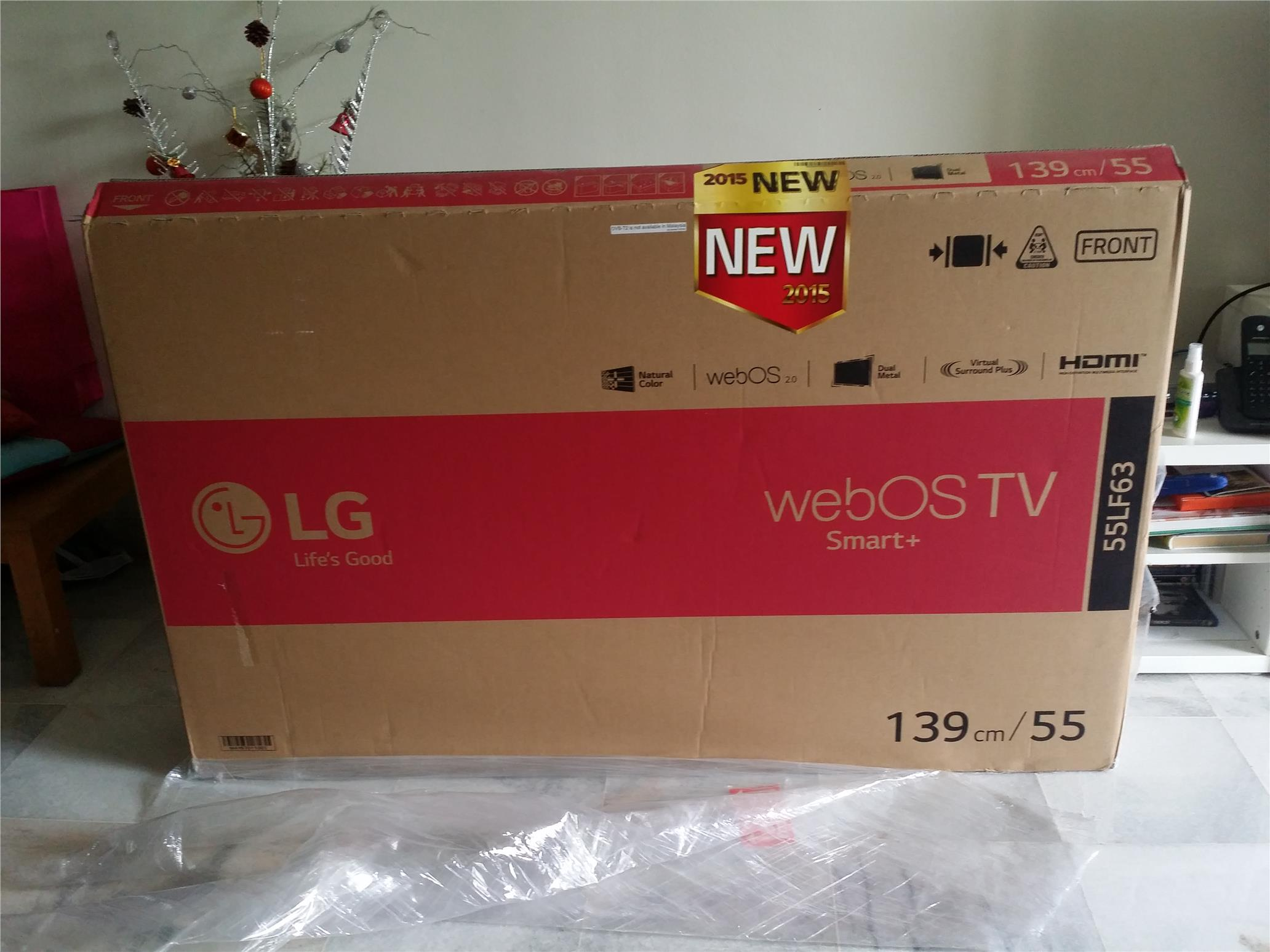 lg tv 2015. brand new 2015 lg 55\u0027 smart led tv 55lf630t webos 2.0 hdmi lg tv