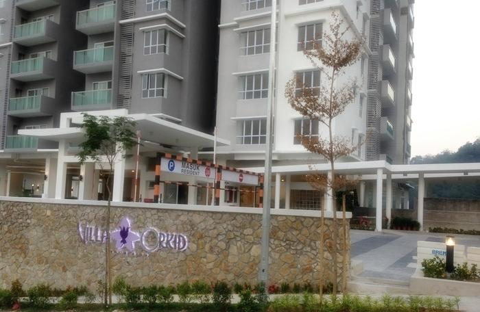 Brand New Condo for sale, Villa Orkid, Segambut, Freehold, Furnished