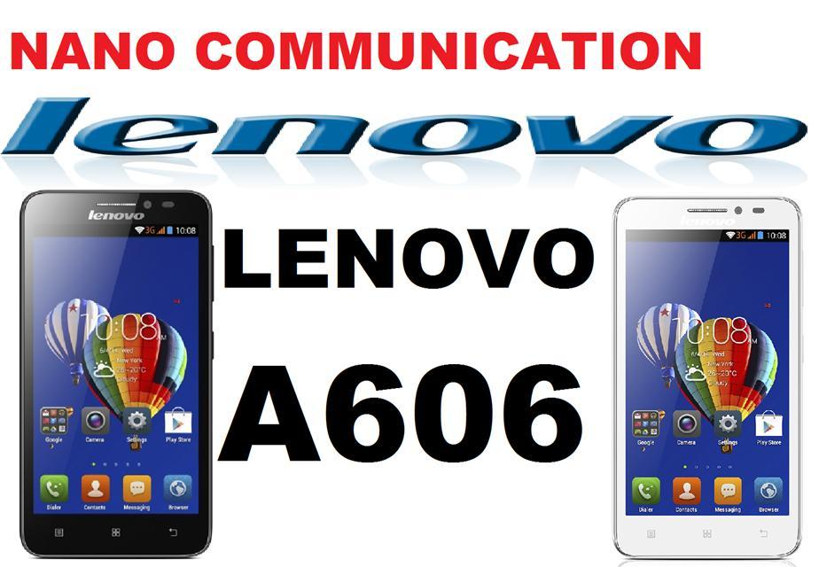 BRAND LENOVO...NANO COMMUNICATION WARRANTY...LENOVO A606 LTE 4G