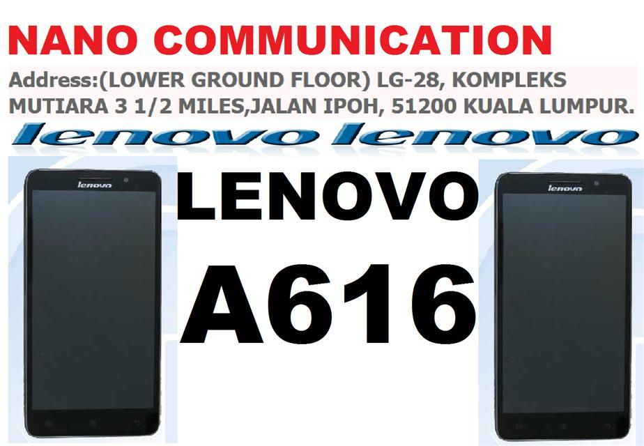 BRAND LENOVO NANO COMMUNICATION WARRANTY LENOVO A616