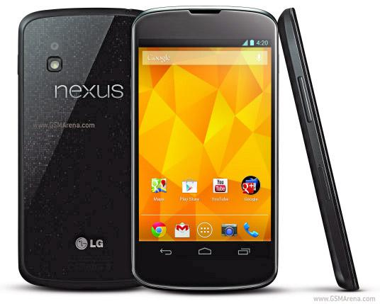 BRAND NEW LG NEXUS 4 E960 3G WIFI GPS ANDROID FULL SET