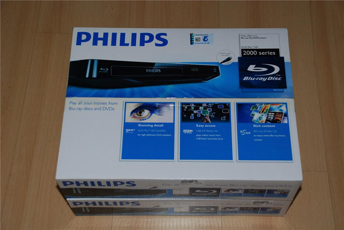 Brand New Philips Blu-Ray Player support RMVB