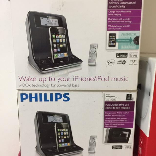 Brand New Philips Docking For Iphone or ipod