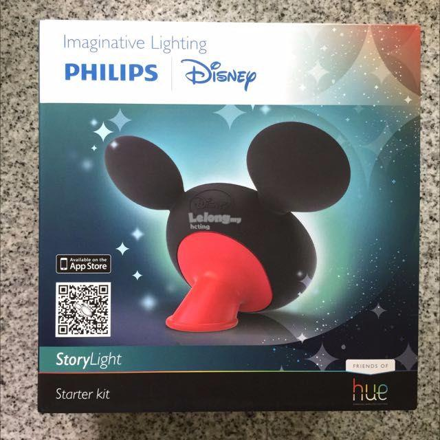 Brand New Philips Hue Disney LED StoryLight Starter Kit