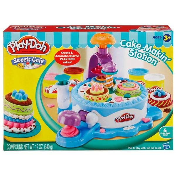 Brand New Play-Doh Sweet Cafe Cake Makin' Station