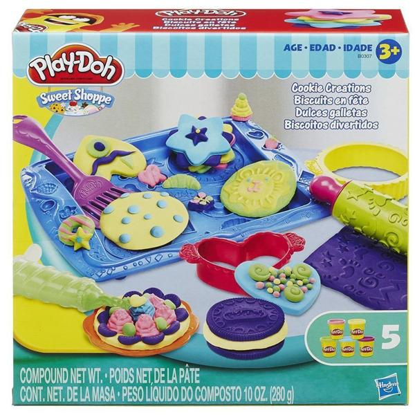 Brand New Play-Doh Sweet Shoppe Cookie Creations