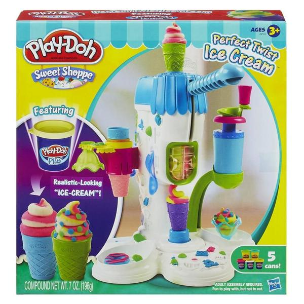 Brand New Play-Doh Sweet Shoppe Perfect Twist Ice Cream