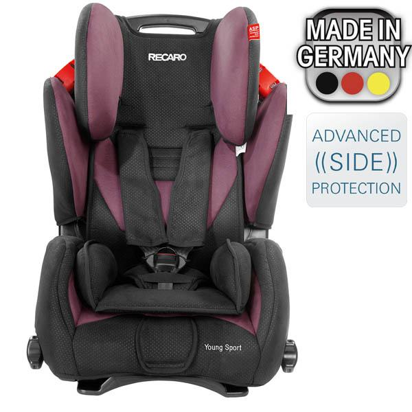 Brand New Recaro YOUNG Sport Booster Car Seat Color Violet Purple