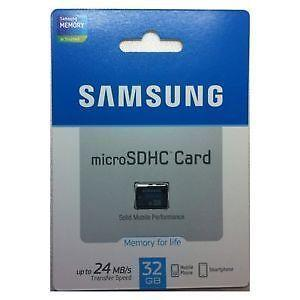 Brand New Samsung 32GB Micro Sd Card