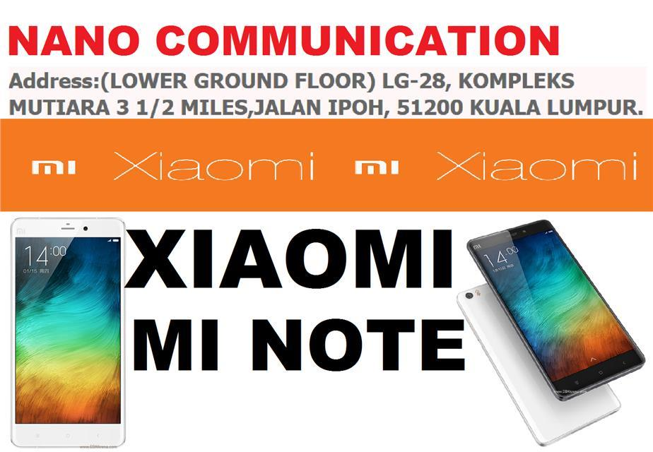 BRAND XIAOMI NANO COMMUNICATION WARRANTY Xiaomi Mi Note 16GB