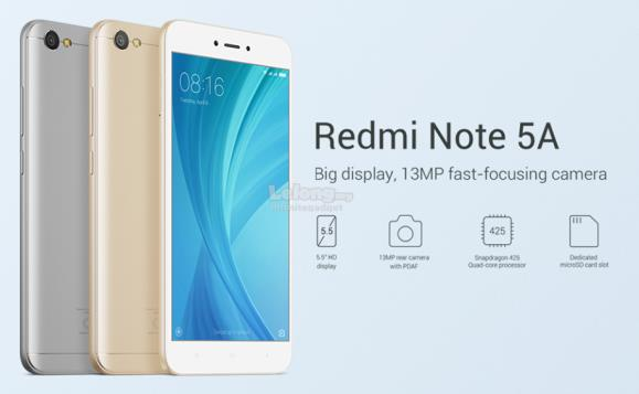 BRAND NEW Xiaomi Redmi Note 5A 4GB RAM 64GB