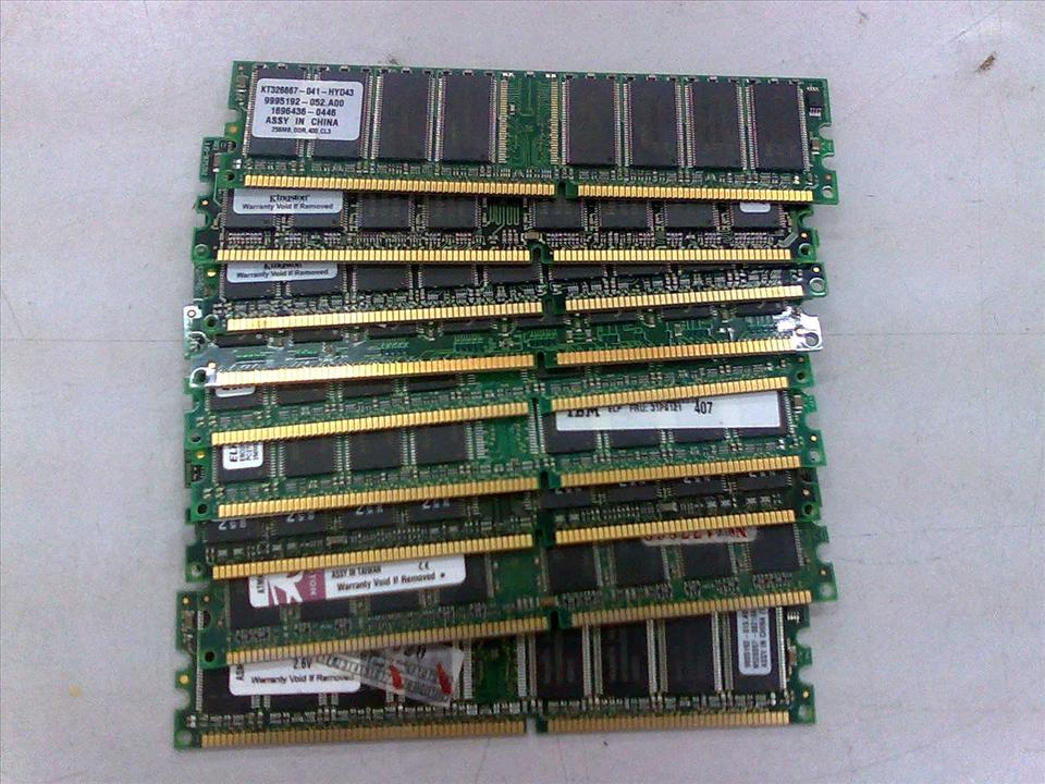 Branded 256MB DDR1 RAM for PC