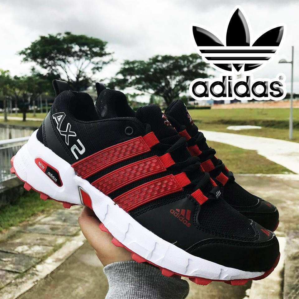 Sepatu Adidas Ax2 Black Red3 Daftar Harga Terkini Dan Termurah Mini Skelly Denise Red 8 9 Tahun Branded Ii Shoes