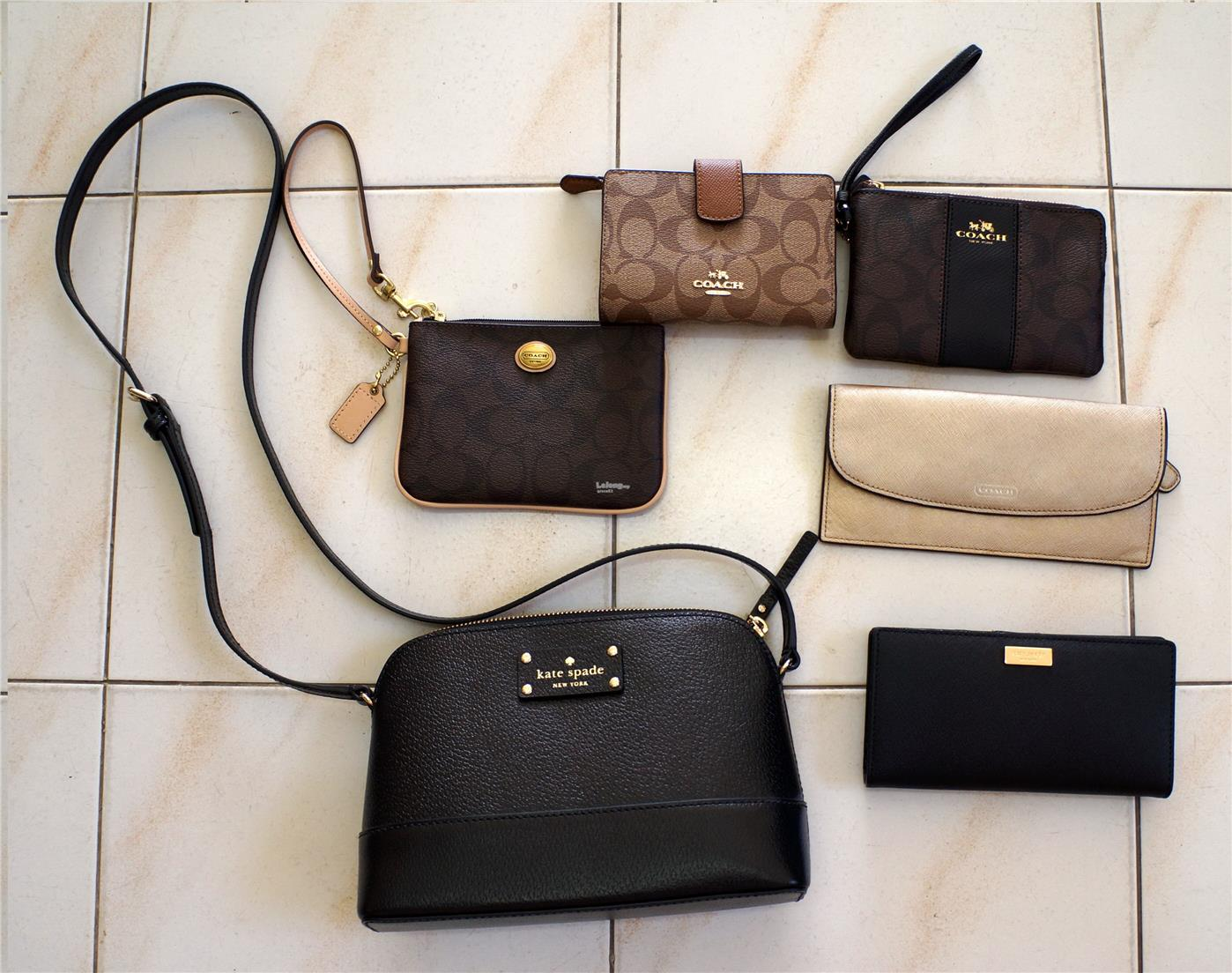 Branded Usa Coach Kate Spade Wallet And Bags
