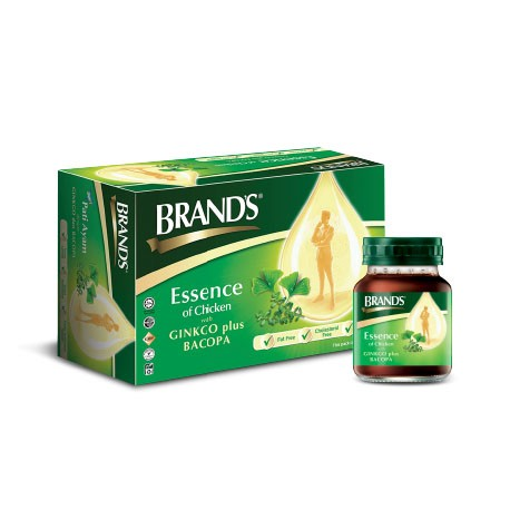 BRANDS Essence of Chicken with Bacopa + Ginkgo 6X70g