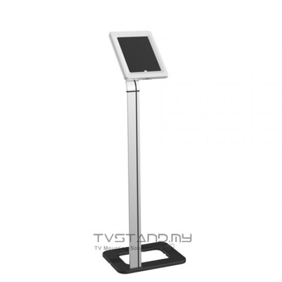 Brateck Adjustable Anti-Theft Tablet Floor Stand Upto 9.7 inches-10.1