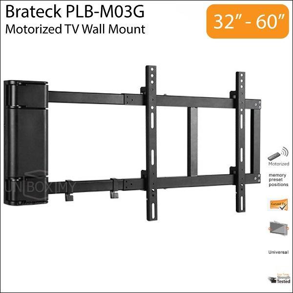 brateck plb m03g 32 60 inch motorize end 3 18 2019 6 31 pm. Black Bedroom Furniture Sets. Home Design Ideas