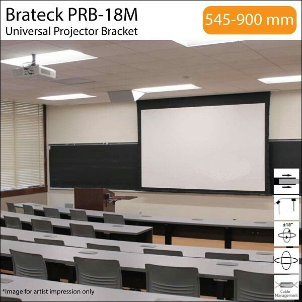 BRATECK UNIVERSAL CEILING PROJECTOR MOUNT UP TO 13.5KG