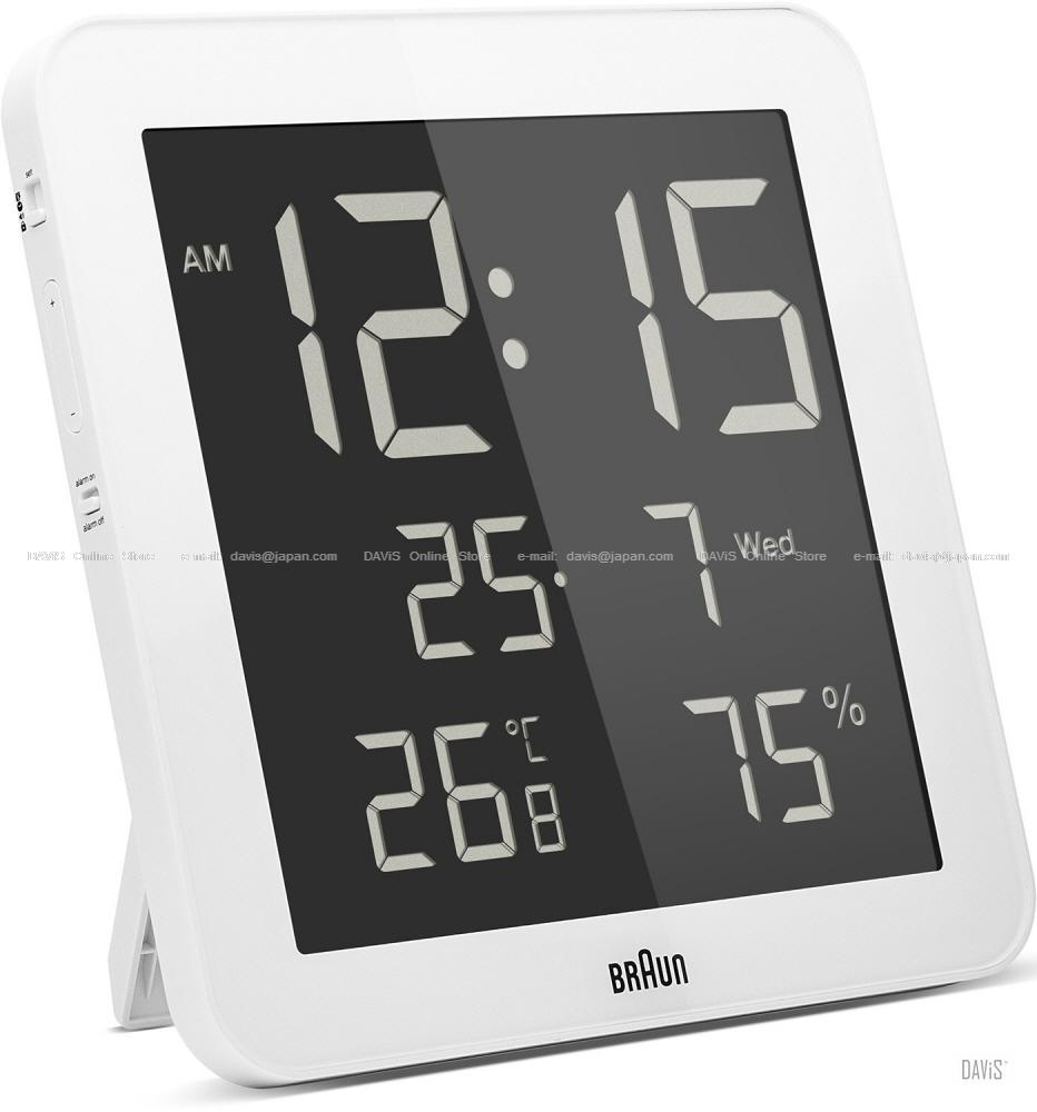 Braun Bnc014 Digital Wall Clock Bn End 822019 1159 Am