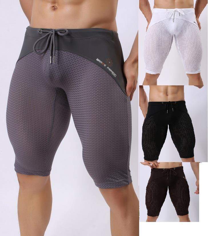 BravePerson Mid-Length for gym exercise breathable sports 2240