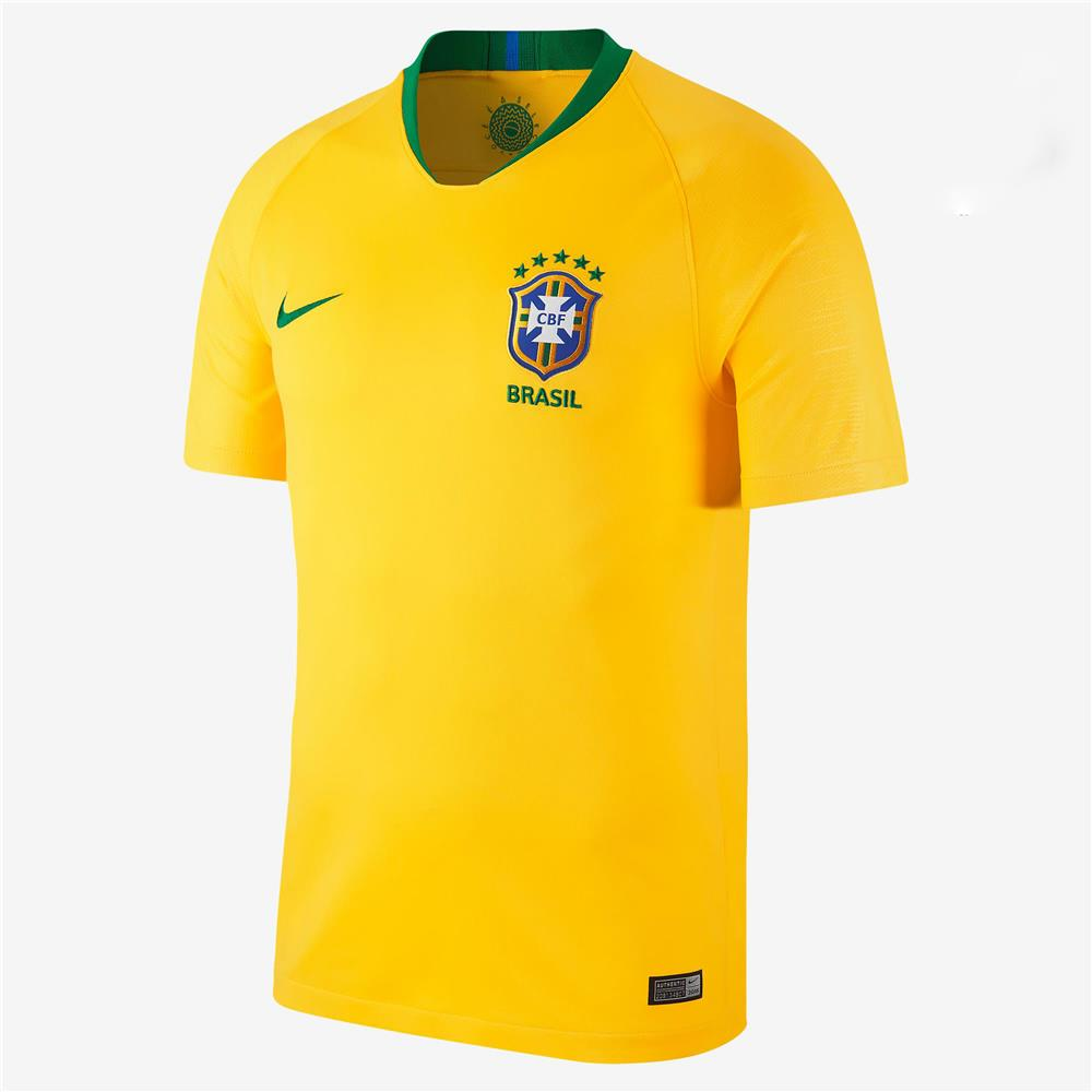 buy popular 3e3e3 41dfb Brazil Home Jersey World Cup 2018