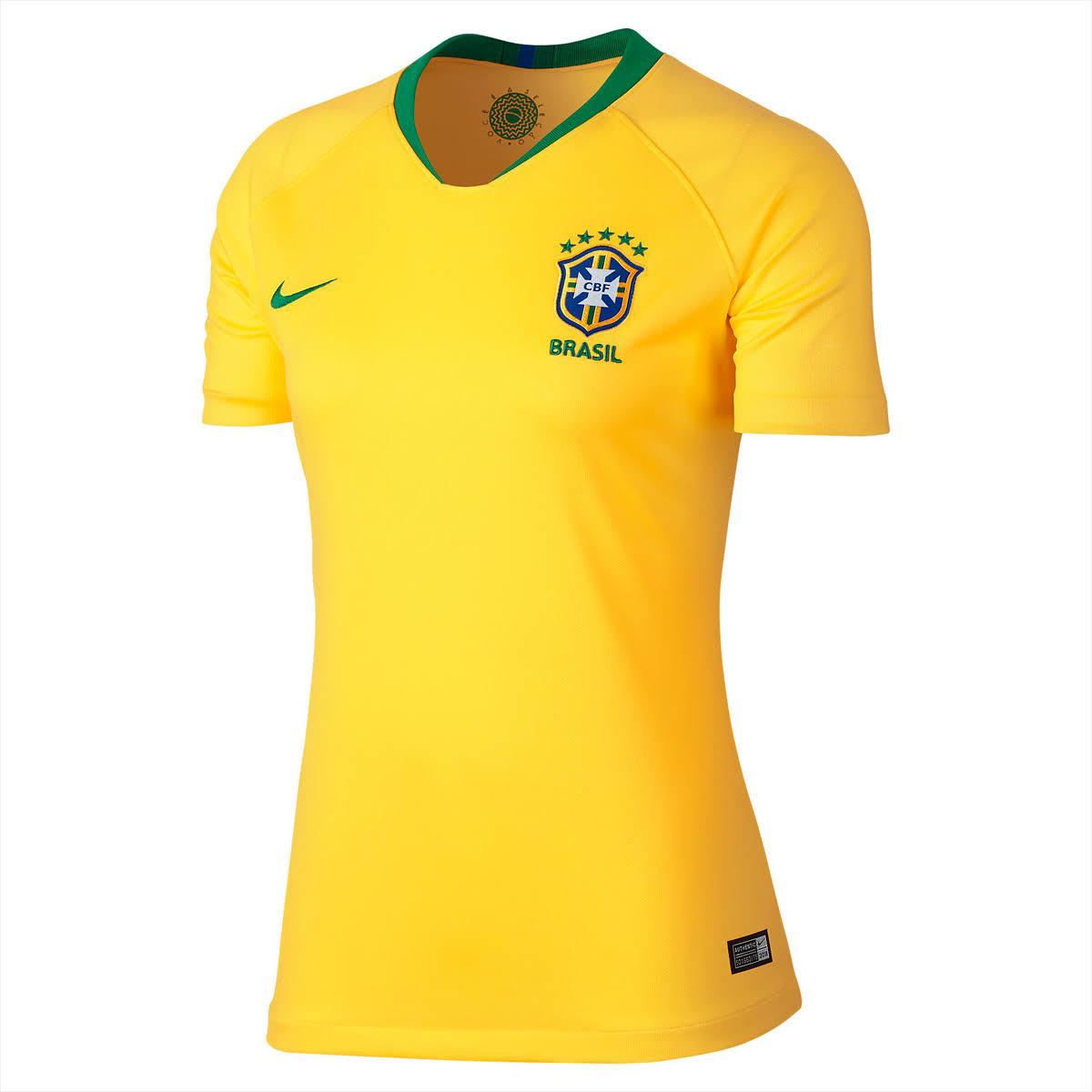 Brazil Women CBF Stadium Home World (end 7 11 2021 12 00 AM) ea65bfc6ea