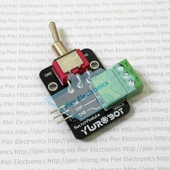 Breadboard Friendly Single-Pole Double-Throw Switch Module