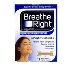 BREATHE RIGHT (ADULTS) (TO REDUCE NASAL CONGESTION & SNORING) 2 BOXES