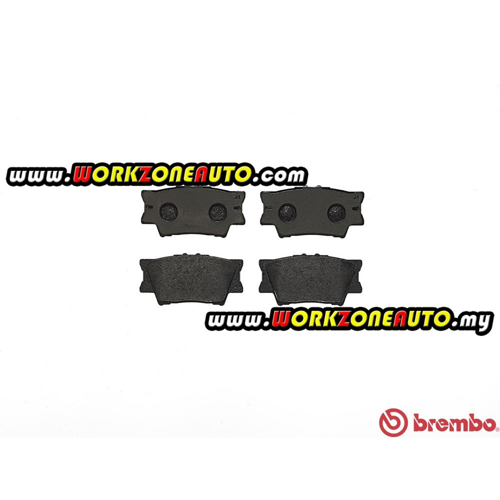 Brembo P83089S Toyota Camry ACV40 ACV41 ACV50 ACV51 Harrier 2014 RX on