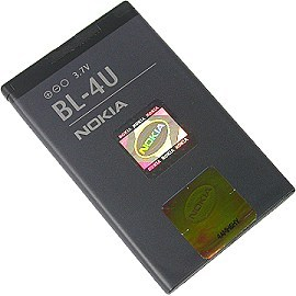Brian Zone - Original NOKIA BL - 4U Battery