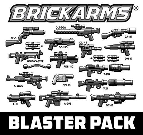 ~ BrickArms Blaster Pack 2.5-Inch Weapons Pack