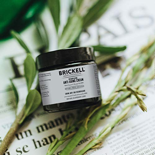 ..// Brickell Men's Products Resurfacing Anti-Aging Cream For Men, Natural and