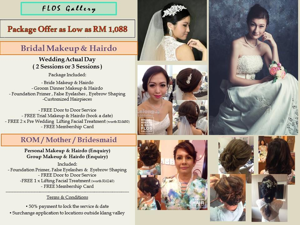 BRIDAL MAKE UP & HAIRDO PACKAGE ROM (end 5/22/2018 11:56 PM)