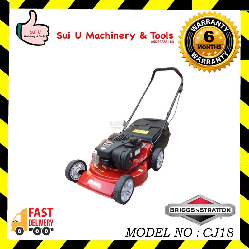 Briggs and Stratton (B&S) CJ18 Petrol Gasoline Lawn Mower / Mover 18""