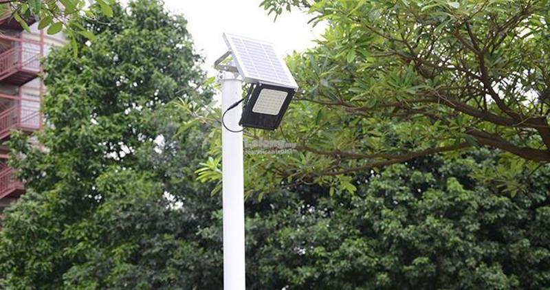 Bright 120 LED Night Sensor Solar Floodlight Light Outdoor Spotlight
