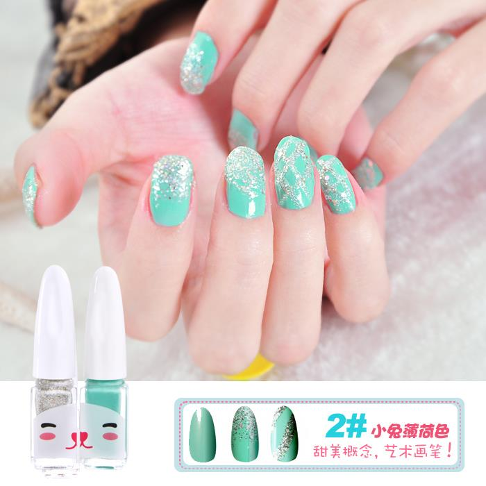 Bright Many Color DIY Nail Polish Set - 2#