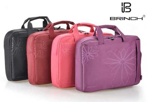 BRINCH 14.1 Fashion Laptop Carry Case Foam Padded Notebook Bag